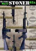 Bravo6[B6-35084]1/35 ストーナーM63A/Mk.23 軽機関銃(2丁セット)