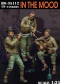 Bravo6[B6-35112]1/35  WWII米 楽器を演奏する戦車兵