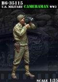 Bravo6[B6-35115]1/35  WWII米 カメラマン