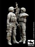 BLACK DOG[F35006]1/35現用米 兵士(イラク) (2体セット)
