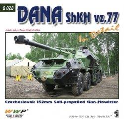 画像1: WWP [G028] チェコ ダナ152mm装輪自走榴弾砲 ディティール写真集