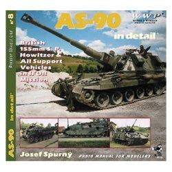 画像1: WWP [G008] 英 AS-90自走榴弾砲  ディティール写真集