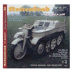 画像1: WWP [R022]WWIIドイツ ケッテンクラート ディティール写真集