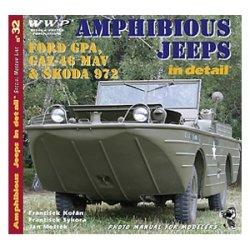 画像1: WWP [R032] WWII米/露 水陸両用ジープ  ディティール写真集