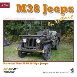 画像1: WWP [R052] 現用米 M38ジープ  ディティール写真集