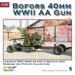 画像1: WWP [R058] WWII英 ボフォース40mm対空機関砲  ディティール写真集