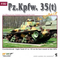 画像1: WWP [R062] WWII独 35(t)戦車 ディティール写真集
