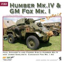 画像1: WWP [R063] WWII英 ハンバーMk.IV/GM フォックスMk.I 装甲車  ディティール写真集