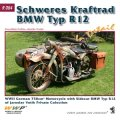 WWP [R064] WWII独 BMW R12 軍用バイク ディティール写真集