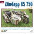 WWP [R069]WWII独 ツュンダップ KS750 軍用バイク ディティール写真集