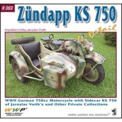 画像1: WWP [R069]WWII独 ツュンダップ KS750 軍用バイク ディティール写真集