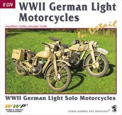 画像1: WWP [R074] WWII ドイツ軍の軽モーターバイク ディティール写真集