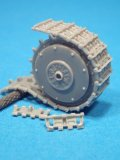 BrachModel[BM 55]P40用可動履帯&起動輪セット(イタレリ/タミヤ用)