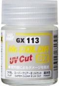 MRホビー[GX113]Mr.カラーGX スーパークリアーIII UVカット つや消し