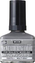 GSIクレオス[WC06]Mr.ウェザリングカラー マルチグレー