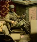 D-Day miniature studio[DD35028] 1/35 武装親衛隊歩兵 ジープドライバー アルデンヌ1944