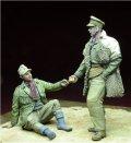 D-Day miniature studio[DD35058]1/35 WWII LRDG将校&捕虜セット 1941-43(2体セット)