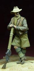 D-Day miniature studio[DD35060]1/35 WWII英 LRDG 兵士 /w ルイス機関銃 北アフリカ 1940-43