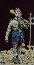 D-Day miniature studio[DD35065]1/35 WWII ヒトラーユーゲントの少年1 ドイツ1945