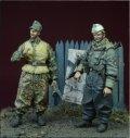 D-Day miniature studio[DD35073]  1/35 WWII独 武装親衛隊 外国人義勇兵セット(2体セット)(冬季軍装)1943-1945