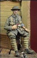 D-Day miniature studio[DD35034] 1/35 WWI英 箱に腰掛けた兵士