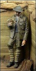 D-Day miniature studio[DD35035] 1/35 WWI英 手紙を読む兵士