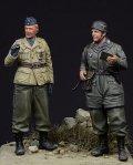 D-Day miniature studio[DD35003] 1/35 WWII 独 降下猟兵2体セット クレタ1941