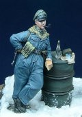 D-Day miniature studio[DD35007] 1/35 WWII 独 武装親衛隊将校 喫煙中 ハンガリー1945