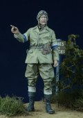 D-Day miniature studio[DD35010] 1/35 WWII 英 オートバイ伝令兵 1942-45