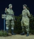 D-Day miniature studio[DD35012] 1/35 WWII 英 伝令兵/憲兵 2体セット 1943-45