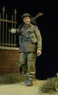 D-Day miniature studio[DD35014] 1/35 WWII 英/英連邦歩兵 ブレン機銃手 行軍中 1942-1945