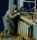 D-Day miniature studio[DD35019] 1/35 WWII 英/英連邦歩兵 ブレン機銃手 射撃中 1943-45