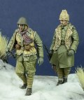 D-Day miniature studio[DD35090]1/35 WWII ルーマニア歩兵 東部戦線1941-44(2体セット)