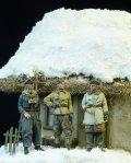 D-Day miniature studio[DD72003] 1/72 武装親衛隊将校 冬季 1943-1945(3体セット)