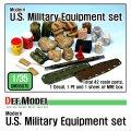 DEF.MODEL[DM35070]1/35 現用米 陸軍積荷セット