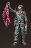 DEF.MODEL[DO35037]1/35WWII-Korean War USMC Holding Flag