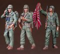 DEF.MODEL[DO35C10]1/35 WWII米 海兵隊歩兵(3体セット)