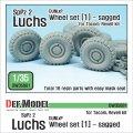 DEF.MODEL[DW35081]1/35 現用独 ルクス 8X8 装甲偵察車 自重変形タイヤ 1(ダンロップ)(タコム/レベル用)