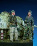 Darius Miniatures[DMF35001]1/35 WWII独 武装親衛隊 古参兵セット 東部戦線(2体セット)