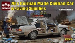 画像1: ダイオパーク[DP35018]1/35 70年代のドイツ製セダン 日用品アクセサリー付き