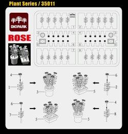 画像2: ダイオパーク[DP35011]1/35 薔薇セット(80株入り)