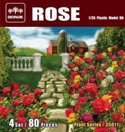 画像1: ダイオパーク[DP35011]1/35 薔薇セット(80株入り)