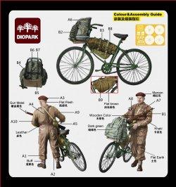 画像2: ダイオパーク[DP35015]1/35 WWII英軍 海兵隊兵士セットB