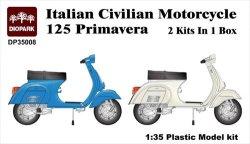 画像1: ダイオパーク[DP35008]イタリア民生バイク 125 プリマベーラ