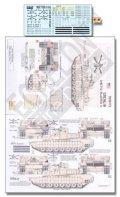 Echelon[D356173]イラクのM1A2 エイブラムズTUSKI デカールセット