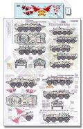 Echelon[D356183]BTR-80 装甲兵員輸送車 ユニークマーキング デカールセット