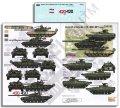 Echelon[D356192]チェチェン紛争のロシア軍AFV:T-72B1,T-80BV & BMP-2