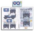 Echelon[D356225]1/35 カナダ空軍と英空軍所属のウィリスMB