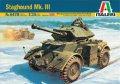 イタレリ[IT6478] 1/35 スタッグハウンド Mk.III 装甲車(メタル砲身・エッチングパーツ付き)