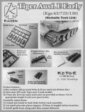 KAIZEN[Kz-Tg-E] 1/35 ティーガーI初期/中期型用 可動履帯